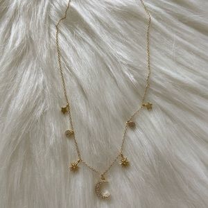 Jewelry - Gold filled 925 CZ Necklace